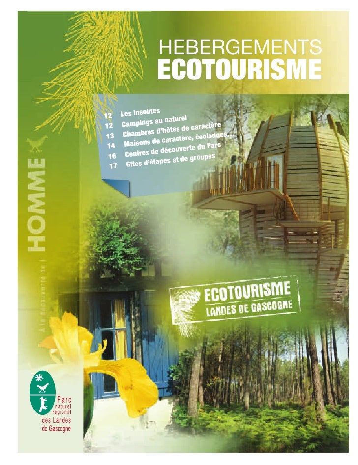 HEBERGEMENTS                   ECOTOURISME 12     Les insolites                      u naturel        Campings a          ...