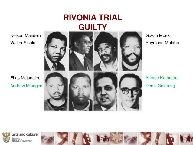 mandela rivonia trial Nelson mandela`s statement from the dock at the opening of the defence case in the rivonia trial pretoria supreme court, 20 april 1964 i am the first accused.