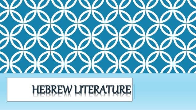 HEBREWLITERATURE