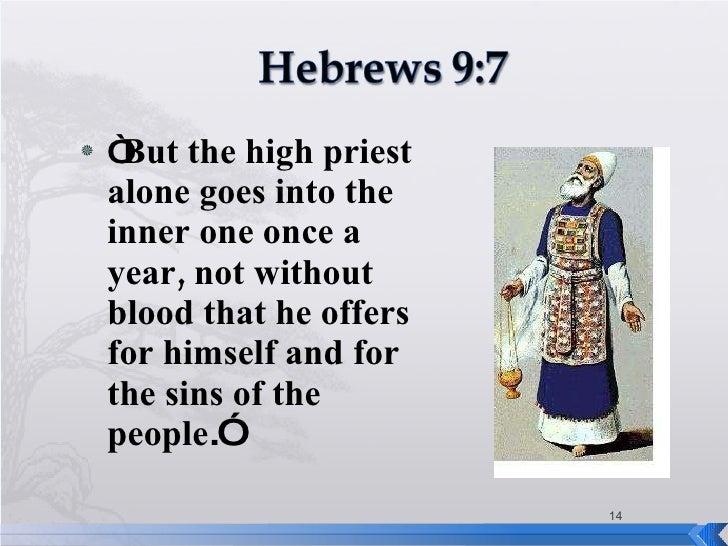 Image result for image of Hebrews 9:7