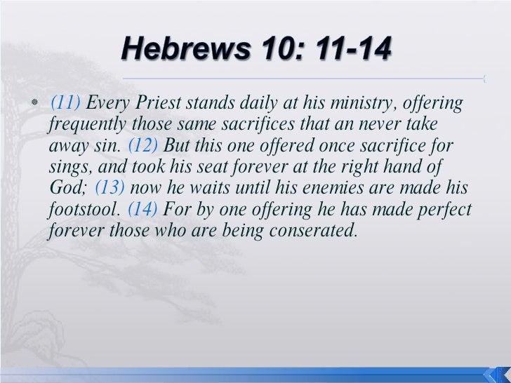 Hebrews 9 And 10 Final