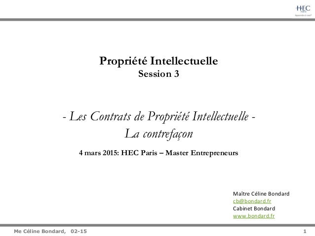 1   Me Céline Bondard, 02-15 1 Maître  Céline  Bondard   cb@bondard.fr     Cabinet  Bondard   www.bondard....