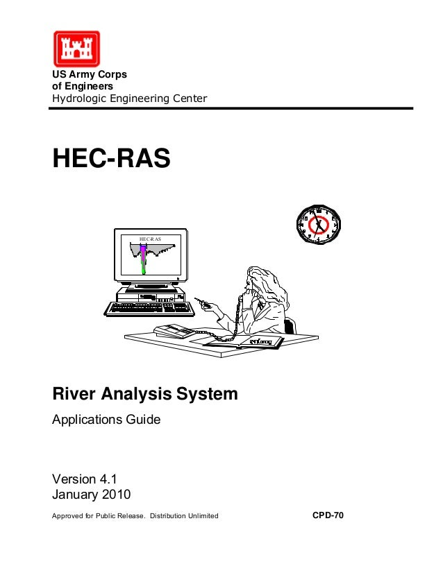 Hec-ras river analysis system users manual