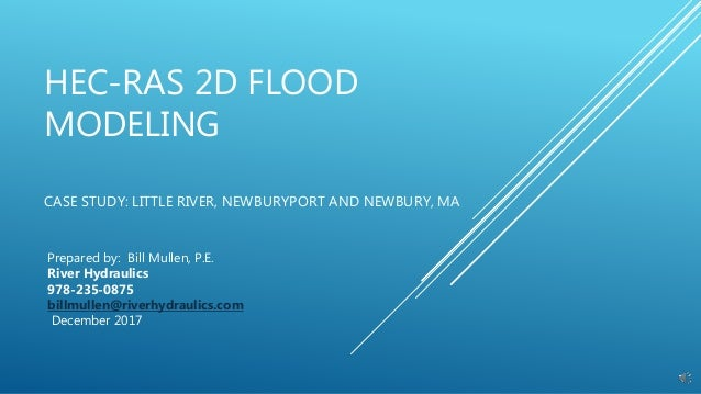 (PDF) THE USE OF HEC-RAS MODELLING IN FLOOD RISK ANALYSIS