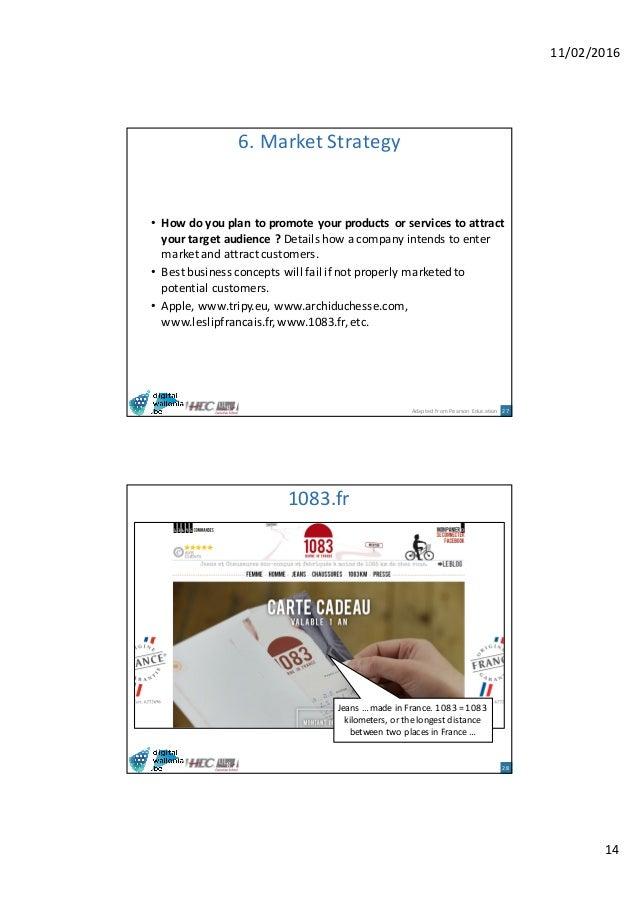 Carte Cado E Commerce.Hec Digital Business E Commerce