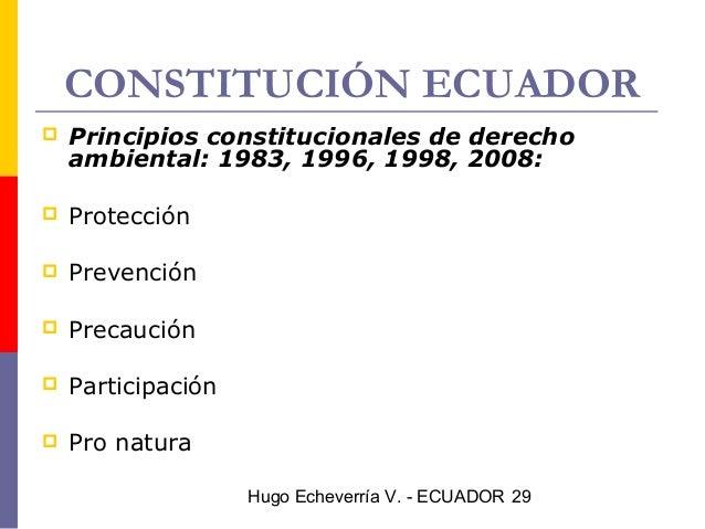 DERECHO AMBIENTAL EN EL ECUADOR PDF