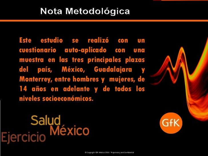 Hecho en méxico, hecho en gf k  méxico, salud y ejercio - sep'10 ok Slide 2