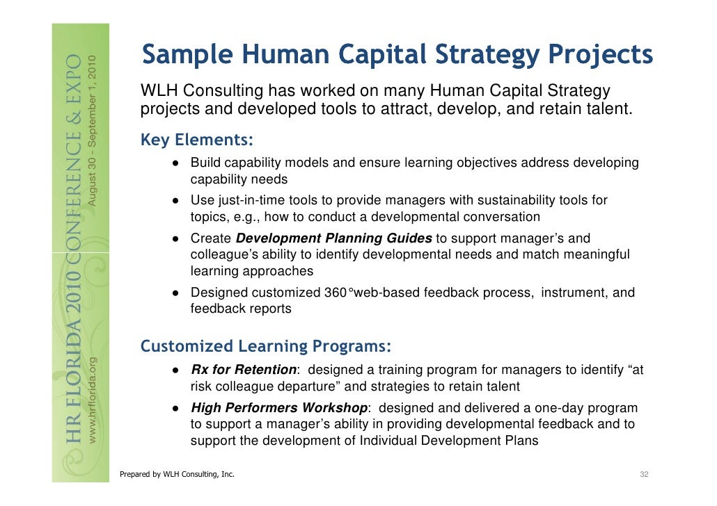 Heckelman - Developing an Integrated Human Capital Strategy