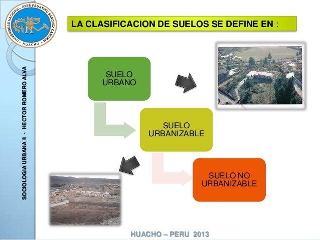 Planes de desarrollo urbano for Suelo no urbanizable