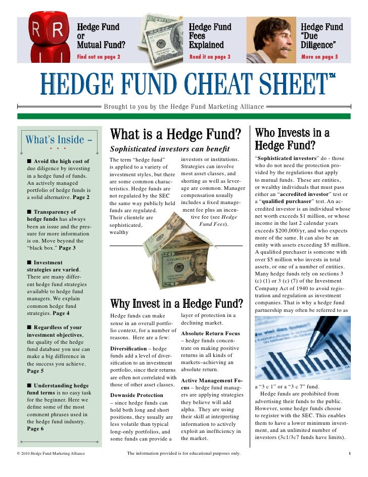 Hedge funds - Quick Overview