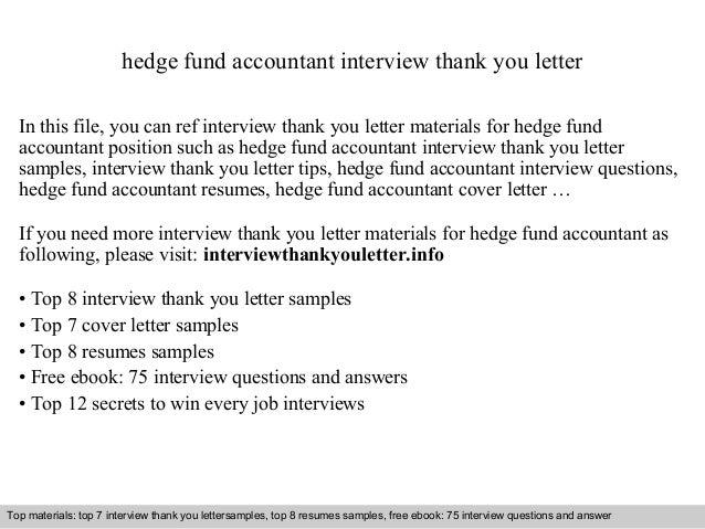 Hedge Fund Accountant