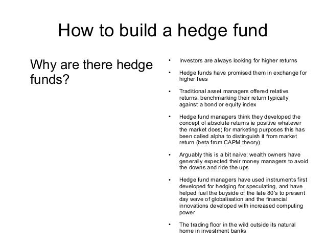 how to build a hedge fund louis plowden wardlaw 23rd march 2011 2