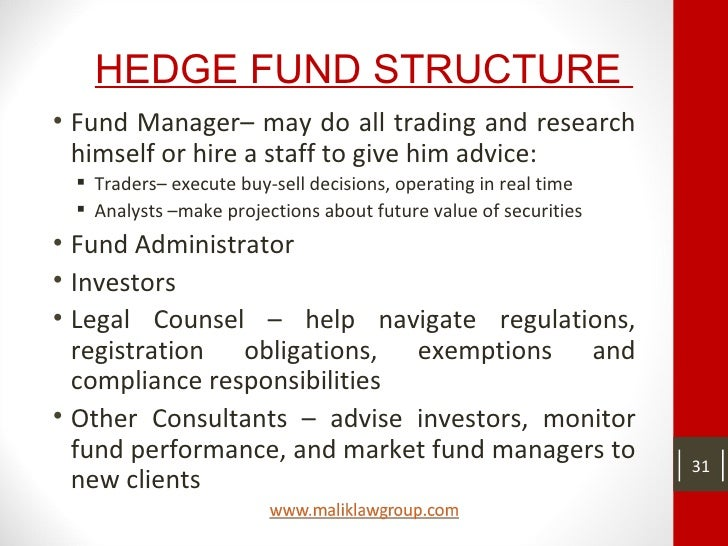 The options trader's hedge fund