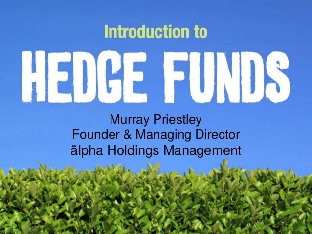 Murray Priestley Founder & Managing Director älpha Holdings Management