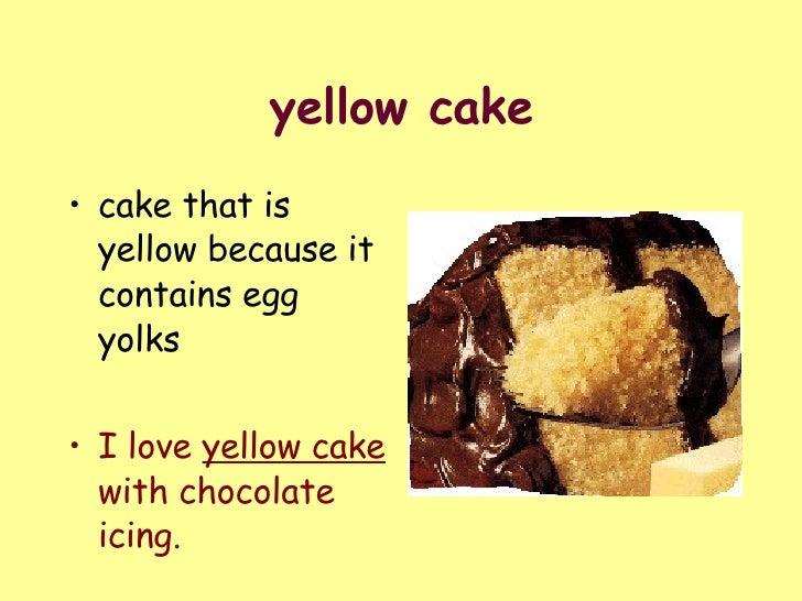Hedgehog Bakes A Cake Yellow Cake Recipe