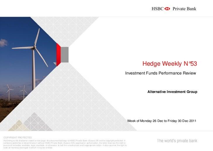 Hedge Weekly N°53                                                                                                         ...