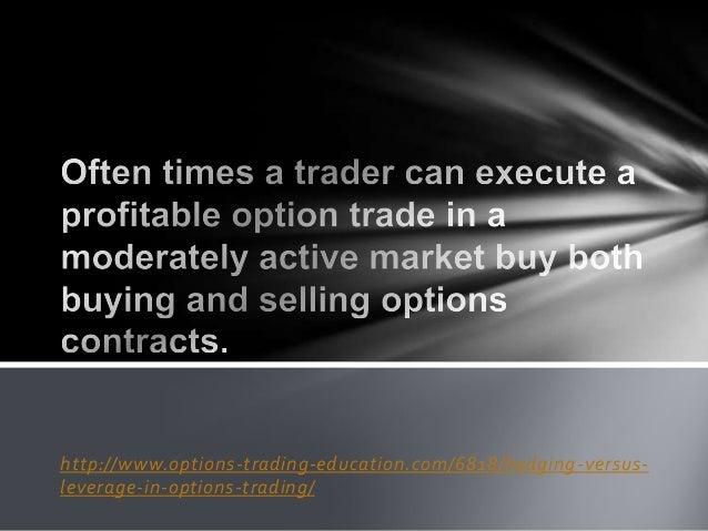 Option trading leverage