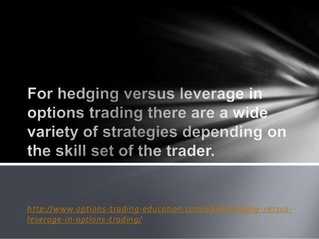 Options vs trading