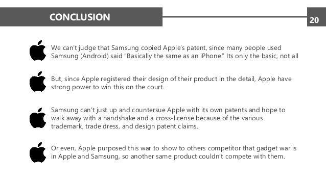 Apple vs Samsung: Design Patents