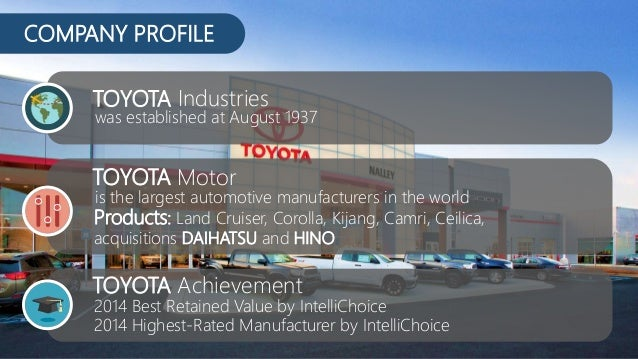 toyota product safety and pricing