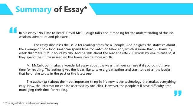 Short essay on pleasure of reading