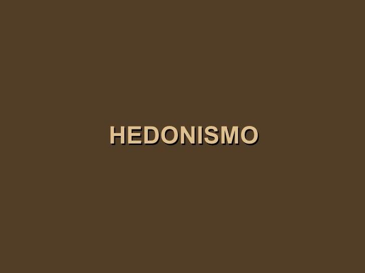 Significado de Hedonismo