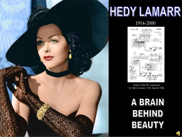 1914-2000 Patent 2.292.387 registered by Hedy Lamarr, 11th Agosto 1942.