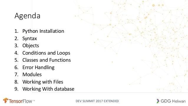 Intro to Python Slide 3