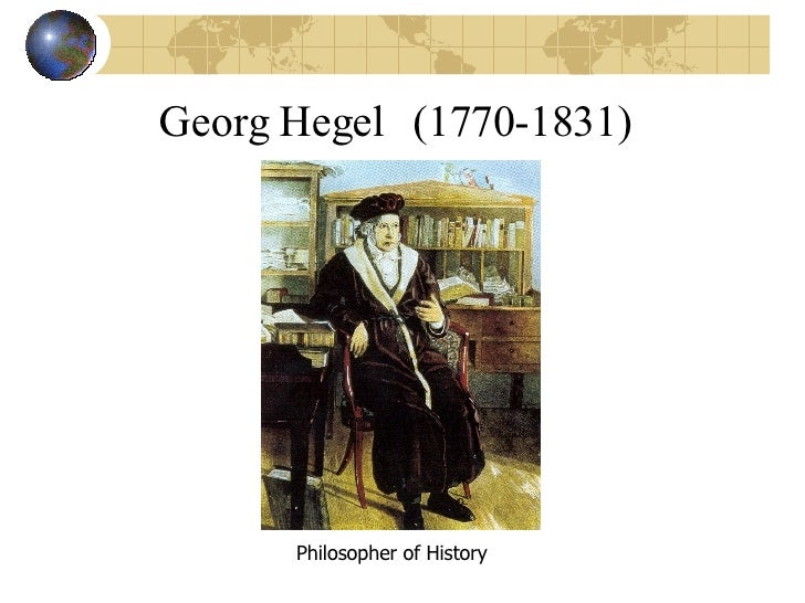 eurocentrism of g w hegel essay Kant's answer to the question posed by the title of his essay what is  enlightenment  i use here the text of the lectures in g w f hegel, simtliche  werke, ed.