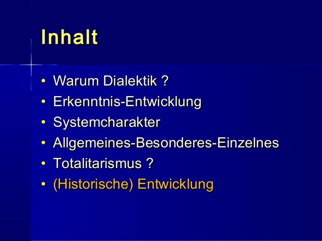 Hegelsche Dialektik Grundlagen Teil III mit Notizen Slide 3