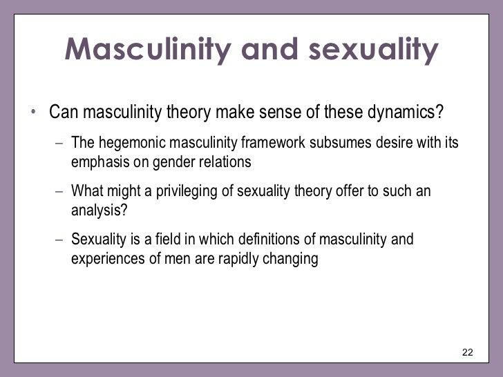 Theoretical analysis of sexuality