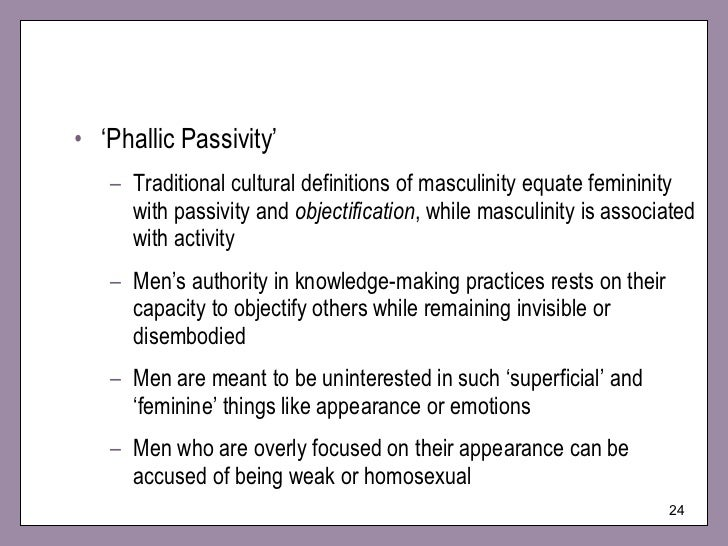masculine characteristics list