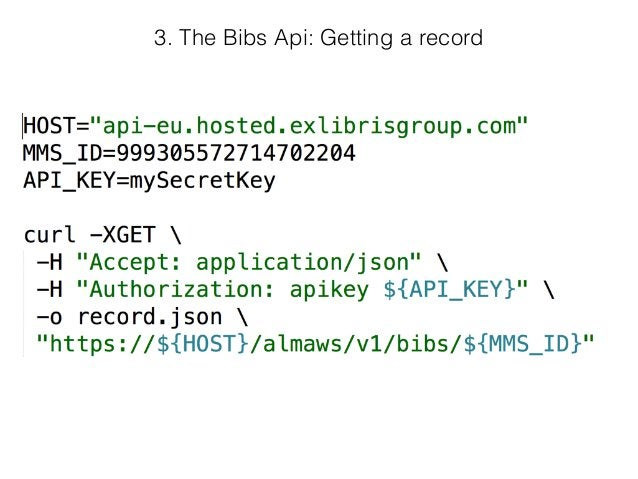 ? The bibliographic record (why array?) Wrong encoding All this info is also in the MARC record. Ignored upon saving.