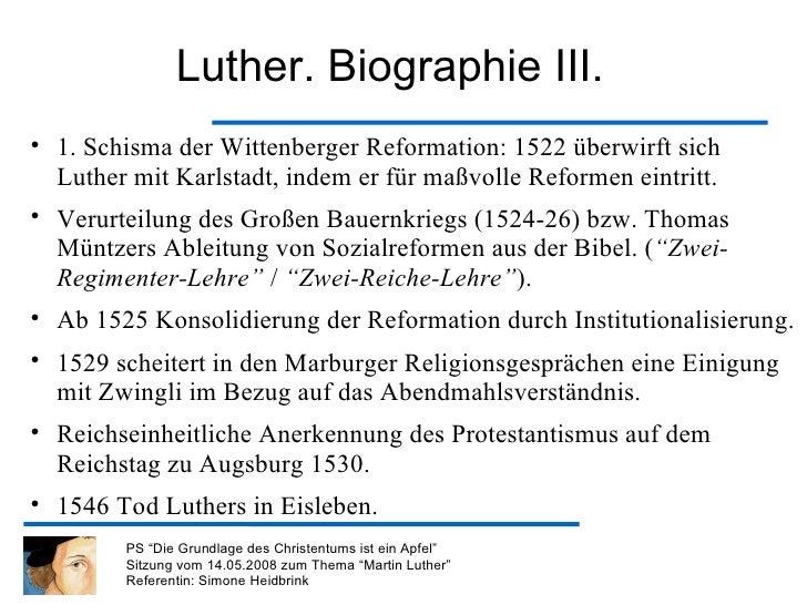 Martin Luther Leben Werk Und Kirchengeschichtliche Relevanz