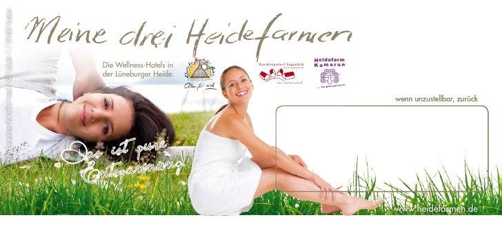 Heidefarmen Rundbrief Frühjahr & Sommer 2011