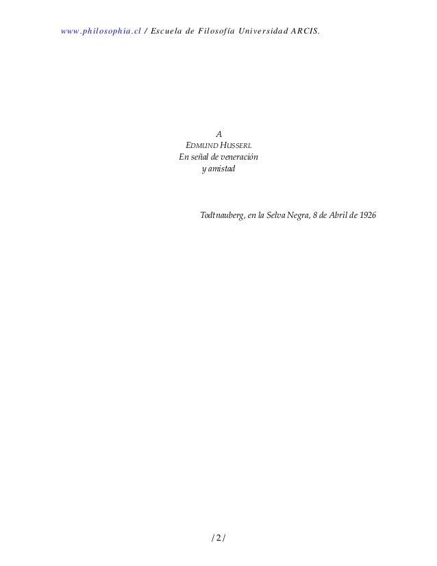 Heidegger, martín   ser y tiempo Slide 2