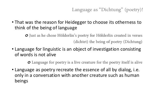 heidegger holderlin and the essence of poetry pdf
