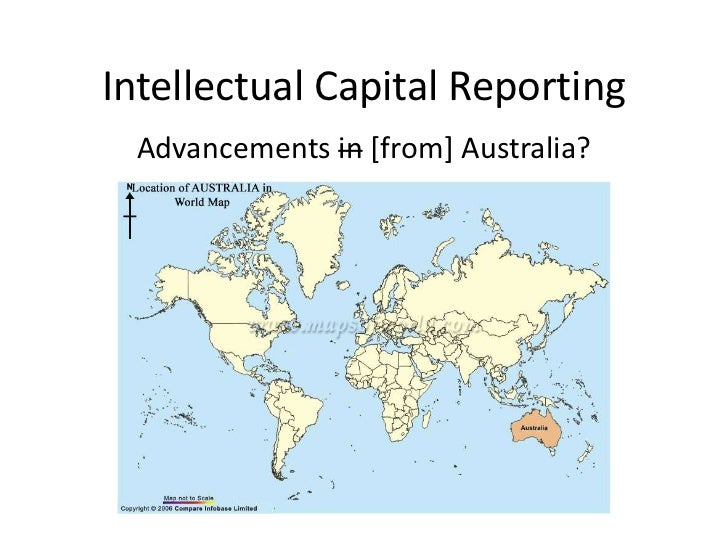 Intellectual Capital Reporting  Advancements in [from] Australia?
