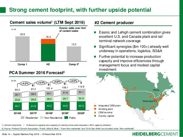 Lehigh Cement Slag : Capital markets day heidelbergcement