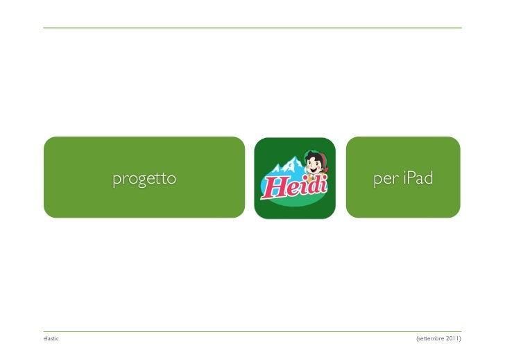 progetto   per iPadelastic                   (settembre 2011)