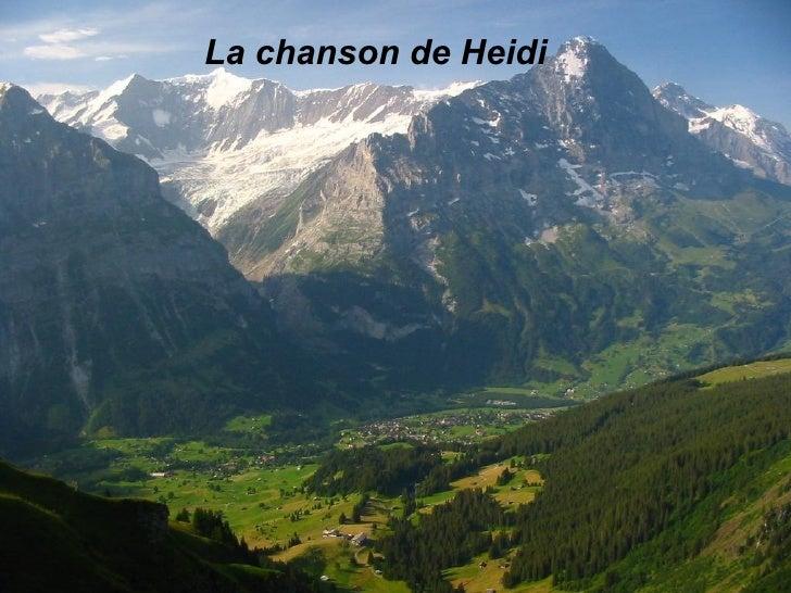 La chanson de Heidi