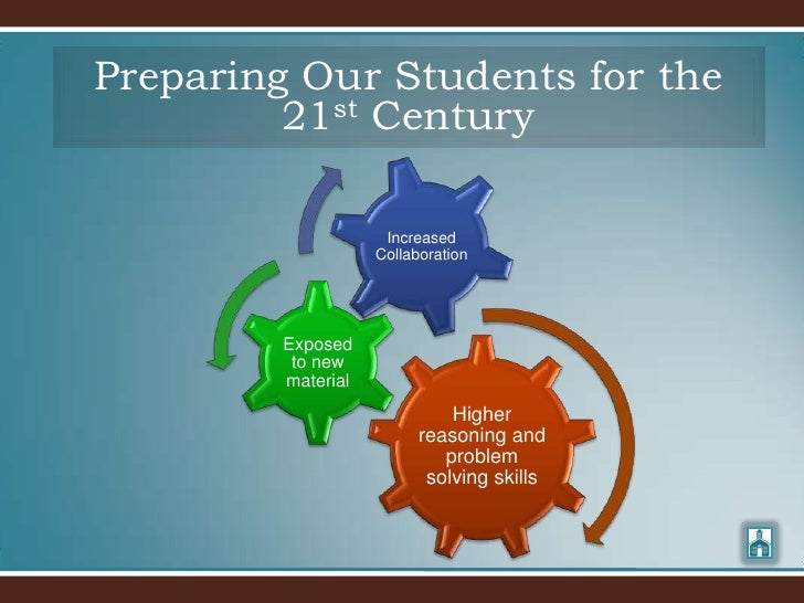 Preparing Our Students for the          21st Century                       Increased                     Collaboration    ...