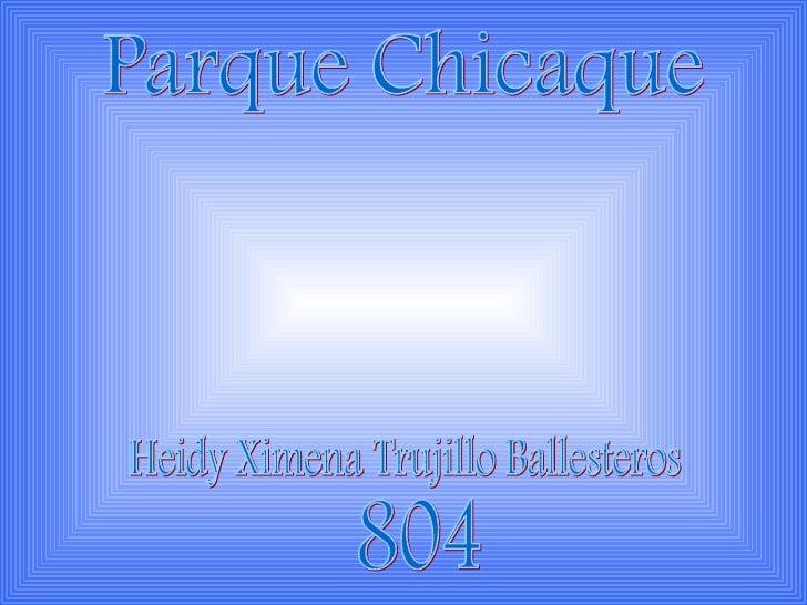 Parque Chicaque Heidy Ximena Trujillo Ballesteros 804