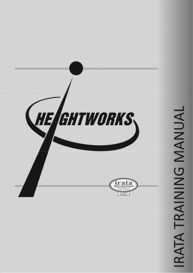 Heightworks IRATA Manual