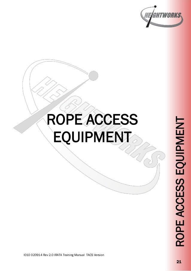 rope access rescue diagram