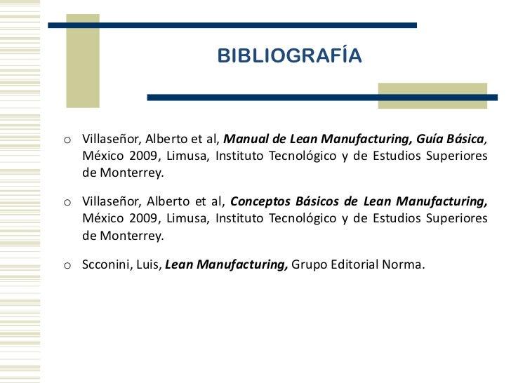 manual de lean manufacturing guía básica pdf