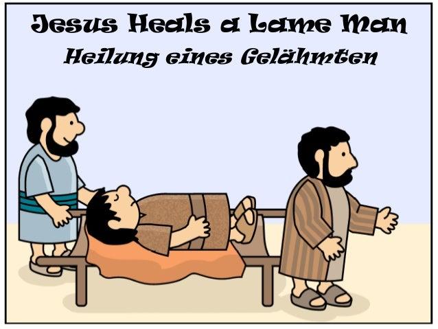 Jesus Heals a Lame Man Heilung eines Gelähmten