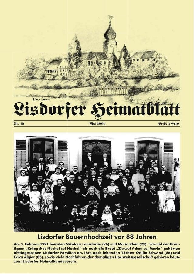 2 Inhaltsverzeichnis Heiner Groß Vorwort 3 Heiner Groß Die Saar – ein Schicksalsfluss für Lisdorf 4 Johann Görgen † Das Li...
