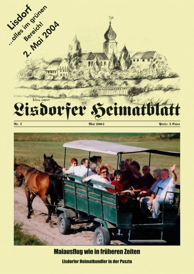 """2 Inhaltsverzeichnis Heiner Groß Vorwort 3 Agnes Groß Der """"Weiße Sonntag"""" hat eine lange Tradition 4 Heiner Groß Vor 110 J..."""