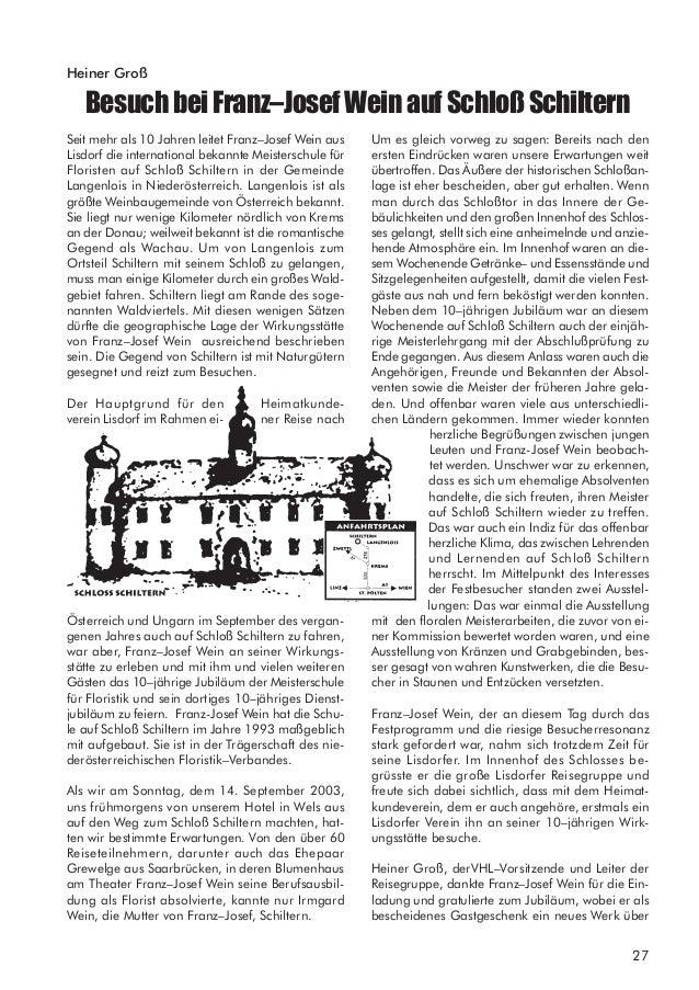 29 WienundBudapest– diezweibezauberndenDonaumetropolen Heiner Groß Bereits im Jahre 2002 führte die große Jahresreise des ...